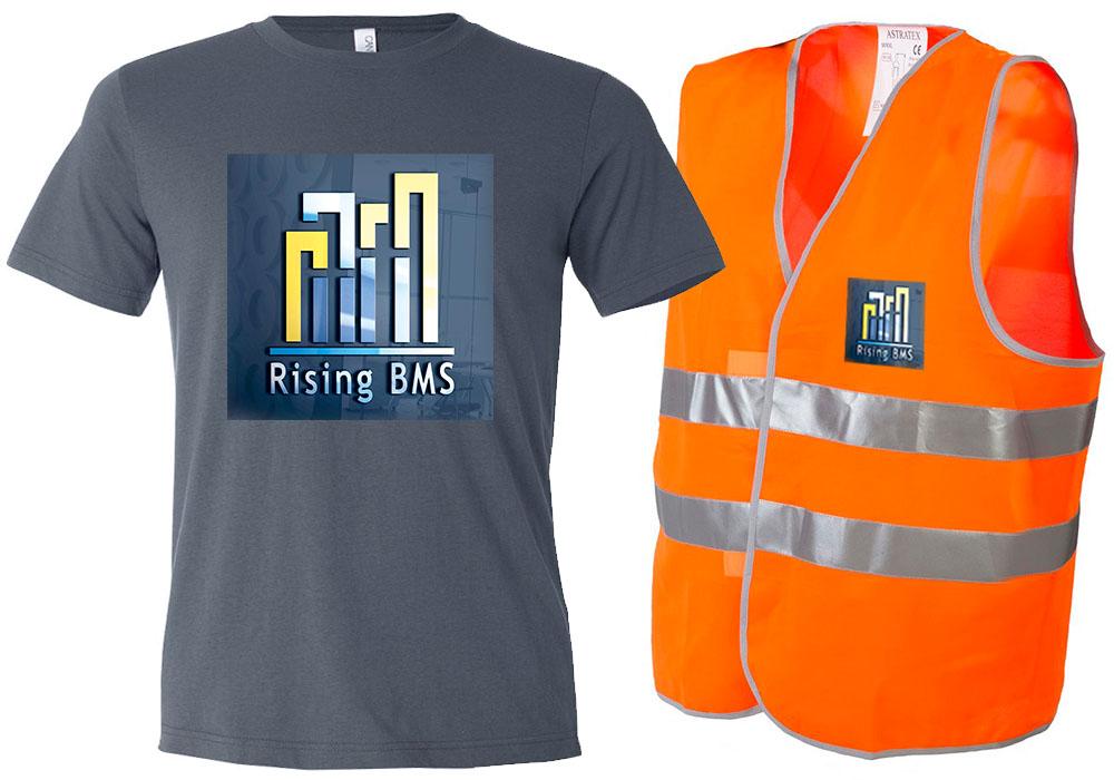 Бранд на работно облекло - RISING BMS