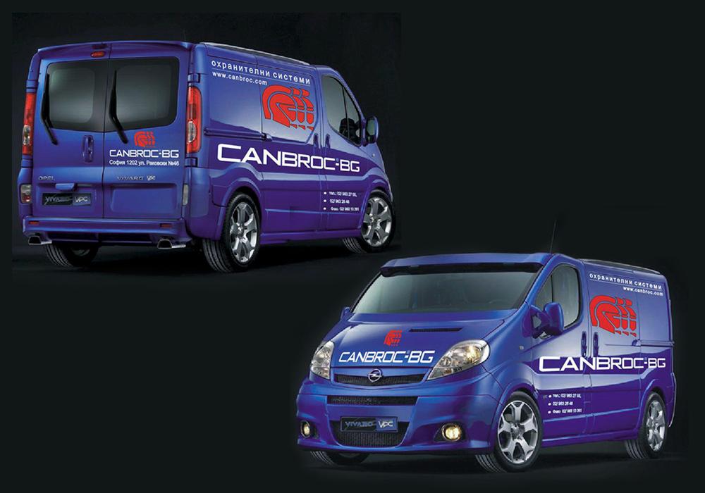 Брандиране на автомобил за CANBROCK