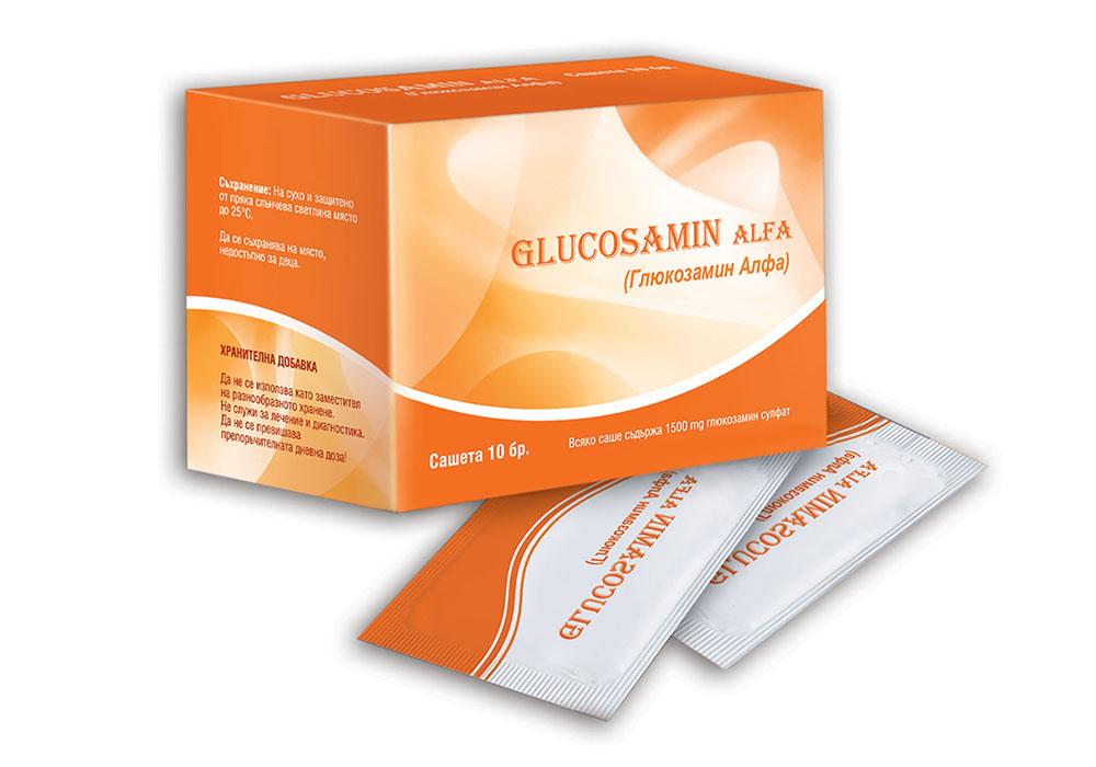 Опаковка Глюкозамин